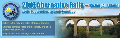 Alternative Rally 2016, Bishop Auckland - Click for meal deal and pre booking